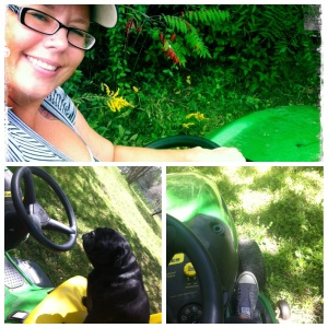Even Ruby loves to John Deere Dream